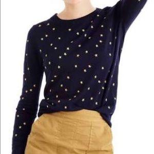 J. Crew Mercantile Star Sweater size M